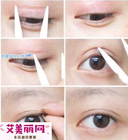 美目贴怎么贴隐形 双眼皮贴法技巧教程